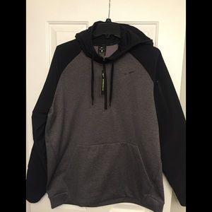 Nike Therma 1/4 Zip Hoodie - LG Standard Fit